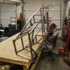 Final welding frame